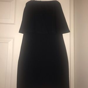LULUS never worn strapless black bodycon dress